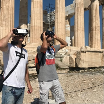 Virtual Reality Tours in Athens, Greece | Opatours