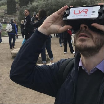 Live Virtual Reality Feature in Athens | Opatours